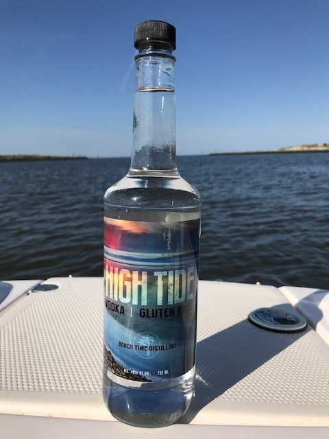High Tide Vodka_boat